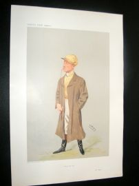 Vanity Fair Print 1906 William Higgs, Jockey
